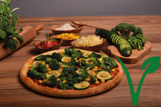 Pizza Vegetarisch Vegan